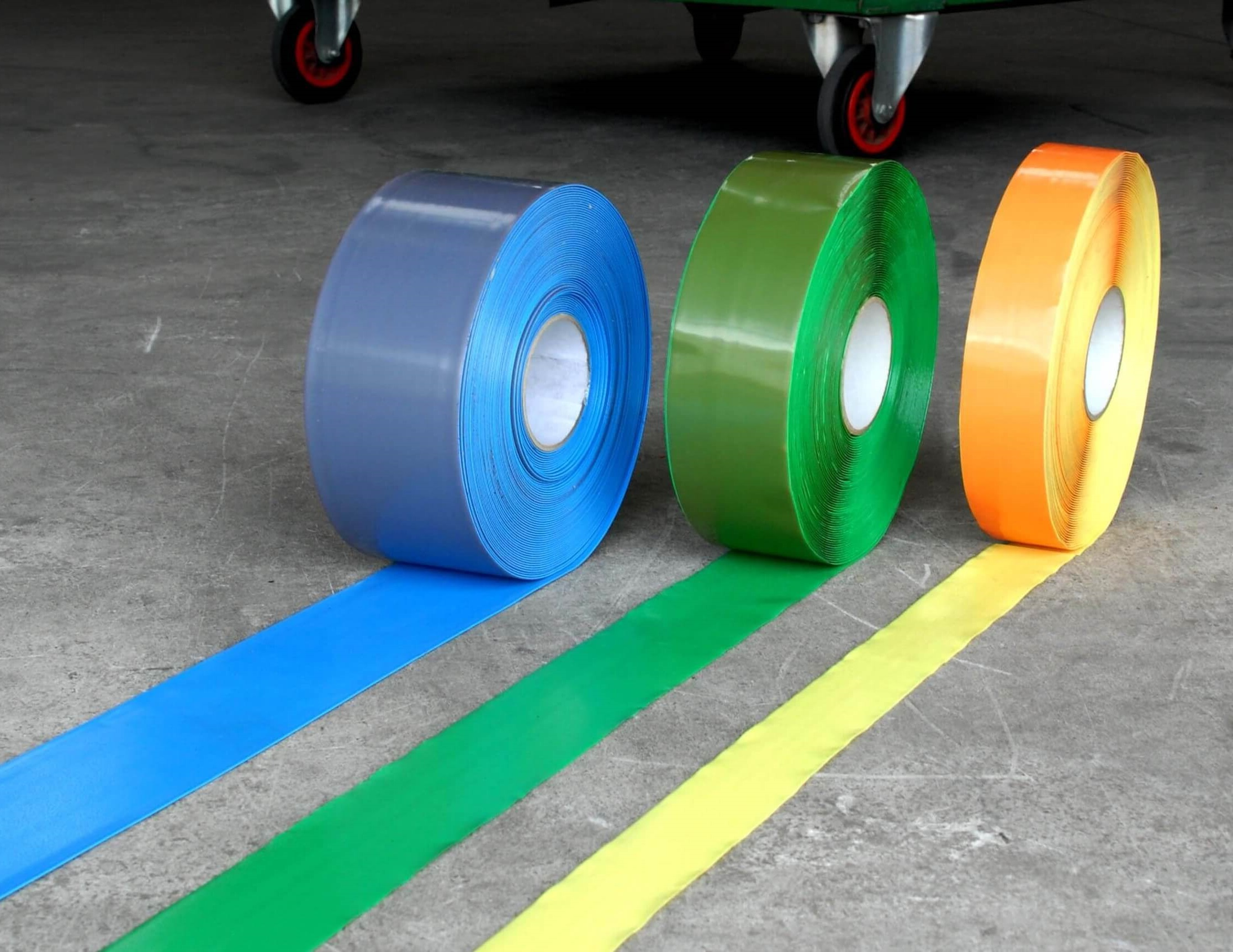 STRATA's Heavy Duty Floor Marking Tapes offer clear signage solutions