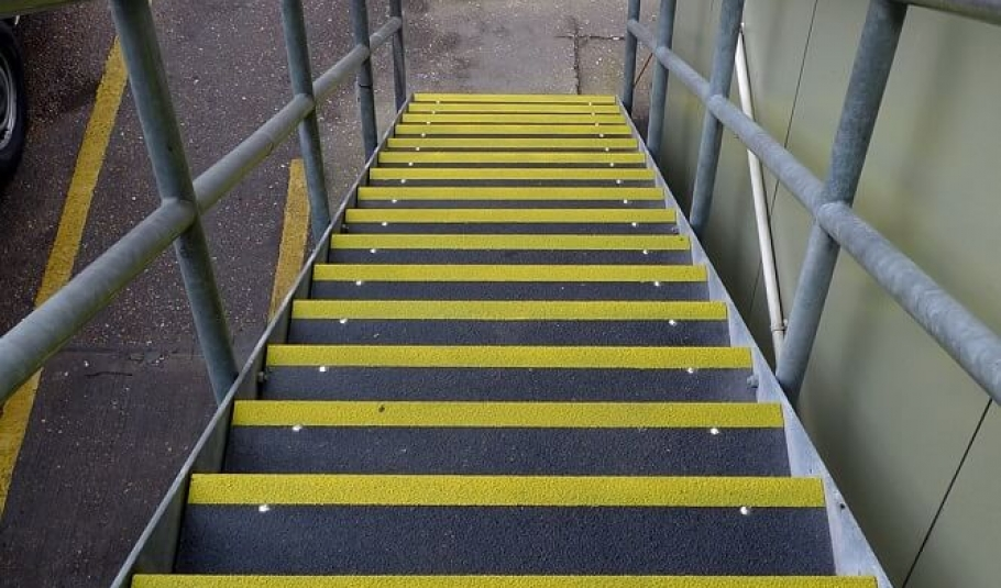 How to prevent slippery stairs - and reduce the liability