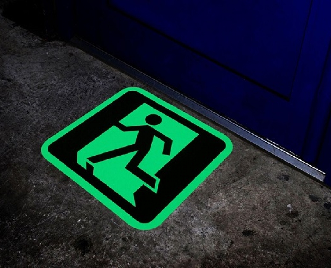Tough Route - Floor Signage 3