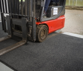 Clean-Start® - Forklift Wheel Cleaning System 1 Thumbnail